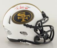 George Kittle Signed 49ers Lunar Eclipse Alternate Speed Mini-Helmet (Beckett COA) at PristineAuction.com