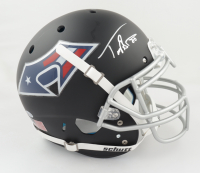 Troy Brown Signed Full-Size Authentic On-Field Matte Black Helmet (Beckett COA) (See Description) at PristineAuction.com