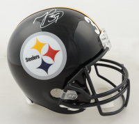 Minkah Fitzpatrick Signed Steelers Full-Size Helmet (Beckett Hologram) at PristineAuction.com