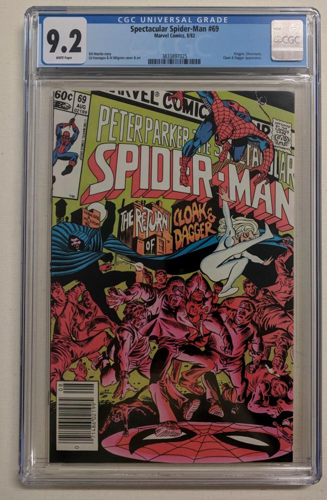 "1982 ""Spectacular Spider-Man"" Issue #69 Marvel Comic Book (CGC 9.2) at PristineAuction.com"