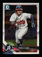 Ronald Acuna 2018 Bowman Chrome Prospects #BCP1 at PristineAuction.com