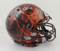 Nick Chubb Signed Full-Size Authentic On-Field Hydro Dipped Helmet (Beckett COA) (See Description) at PristineAuction.com