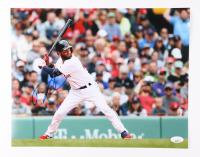 Dustin Pedroia Signed Boston Red Sox 11x14 Photo (JSA COA) at PristineAuction.com