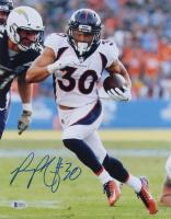 Phillip Lindsay Signed Broncos 11x14 Photo (Beckett COA) at PristineAuction.com