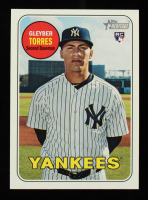Gleyber Torres 2018 Topps Heritage #603 RC at PristineAuction.com