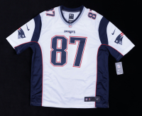 Rob Gronkowski Signed Patriots Jersey (Steiner COA) (See Description) at PristineAuction.com