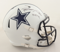 "Randy White Signed Cowboys Full-Size Matte White Speed Helmet Inscribed ""HOF 94"" (Schwartz Sports COA) (See Description) at PristineAuction.com"