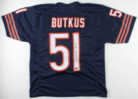 """Dick Butkus Signed Jersey Inscribed """"HOF 79"""" (Beckett Holograms) at PristineAuction.com"""