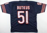 "Dick Butkus Signed Jersey Inscribed ""HOF 79"" (Beckett Holograms) (See Description) at PristineAuction.com"