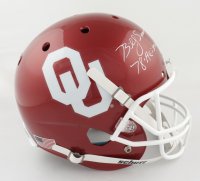 """Billy Sims Signed Oklahoma Sooners Full-Size Helmet Inscribed """"78-Heisman"""" (Schwartz Sports Hologram) (See Description) at PristineAuction.com"""