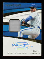 Marcus Stroman 2018 Immaculate Collection Immaculate Material Signatures #52 #43/49 at PristineAuction.com