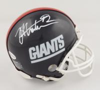 Michael Strahan Signed Giants Mini Helmet (Beckett COA) at PristineAuction.com