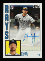 Nate Lowe 2019 Topps Update '84 Topps Autographs #84ANL at PristineAuction.com