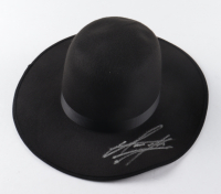 The Undertaker Signed Wide Brim Open Crown Hat (JSA COA & Undertaker Hologram) at PristineAuction.com