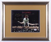 "Olga Korbut Signed 13x16 Framed Photo Inscribed ""4x Gold"" (PSA COA) at PristineAuction.com"
