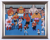 """Mike Tyson Signed 13x16 """"Punch-Out!!"""" Framed Photo (PSA COA & Fiterman Sports Hologram) (See Description) at PristineAuction.com"""