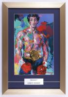 "Leroy Neiman ""Rocky!"" 13x19 Custom Framed Print Display (See Description) at PristineAuction.com"