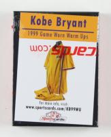 Kobe Bryant 1999 Game Worn Warm Ups at PristineAuction.com
