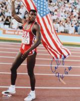 "Carl Lewis Signed Team USA 16x20 Photo Inscribed ""9x GM"" (TriStar Hologram) at PristineAuction.com"