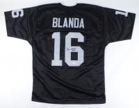"""George Blanda Signed Jersey Inscribed """"HOF 81"""" (JSA COA) at PristineAuction.com"""
