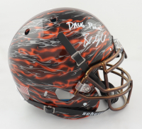 """Baker Mayfield Signed Full-Size Authentic On-Field Hydro-Dipped Helmet Inscribed """"Dawg Pound!"""" (Beckett COA) at PristineAuction.com"""