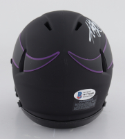 Adrian Peterson Signed Vikings Eclipse Alternate Speed Mini-Helmet (Beckett COA) at PristineAuction.com