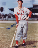 Stan Musial Signed Cardinals 11x14 Photo (TriStar Hologram) at PristineAuction.com