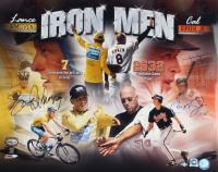 Cal Ripken Jr. & Lance Armstrong Signed 16x20 Photo (Ironclad Hologram & MLB Hologram) at PristineAuction.com