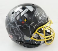 T.J. Watt Signed Full-Size Authentic On-Field Hydro-Dipped Helmet (Beckett COA) at PristineAuction.com