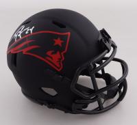 Ty Law Signed Patriots Eclipse Alternate Speed Mini-Helmet (Beckett COA) at PristineAuction.com