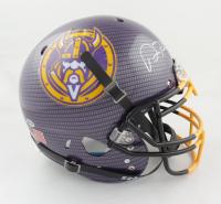 Adam Thielen Signed Full-Size Authentic On-Field Carbon Fiber Helmet (Beckett COA) at PristineAuction.com