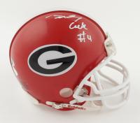 James Cook Signed Georgia Bulldogs Mini-Helmet (JSA COA & Cook Hologram) at PristineAuction.com