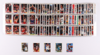 Complete Set of (490) 1992-93 NBA Hoops Basketball Cards with Michael Jordan #30, Michael Jordan #298, Alonzo Mourning #361, Latrell Sprewell #389, Shaquille O'Neal #442 at PristineAuction.com