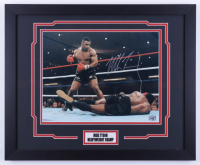 Mike Tyson Signed Signed 18x22 Framed Photo (Fiterman Sports Hologram) (See Description) at PristineAuction.com