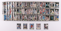 Complete Set of (528) 1991 Leaf Baseball Cards with Nolan Ryan #423, Mark McGwire #487, Cal Ripken #430, Barry Bonds #261, Roger Clemens #488 at PristineAuction.com
