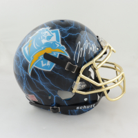 Joey Bosa Signed Full-Size Authentic On-Field Hydro-Dipped Helmet (JSA Hologram) at PristineAuction.com