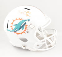 "Mark ""Super"" Duper Signed Dolphins Full-Size Speed Helmet (PSA COA) at PristineAuction.com"