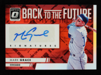 Mark Grace 2016 Donruss Optic Back to the Future Signatures Red #BTFMG #06/25 at PristineAuction.com