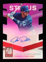Josh Donaldson 2015 Elite Signature Status Purple #57 #02/20 at PristineAuction.com