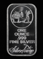 1 Ounce .999 Fine Silver SilverTowne Bullion Bar at PristineAuction.com