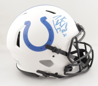 Peyton Manning Signed Colts Full-Size Authentic On-Field Lunar Eclipse Alternate Speed Helmet (Fanatics Hologram) at PristineAuction.com