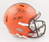 Odell Beckham Jr. Signed Browns Full-Size Speed Helmet (JSA Hologram & Steiner Hologram) at PristineAuction.com