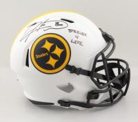 "Hines Ward Signed Steelers Full-Size Lunar Eclipse Alternate Speed Helmet Inscribed ""Steeler 4 Life"" (JSA COA) (See Description) at PristineAuction.com"