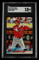 Shohei Ohtani 2018 Topps Update #US285 RD (SGC 10) at PristineAuction.com