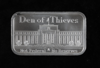 1 Ounce .999 Fine Silver Den Of Thieves Bullion Bar at PristineAuction.com
