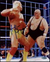 Hulk Hogan Signed WWE 8x10 Photo (Steiner Hologram) at PristineAuction.com