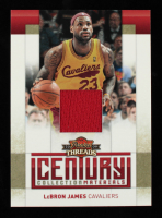 LeBron James 2009-10 Panini Threads Century Collection Materials #14 #036/100 at PristineAuction.com