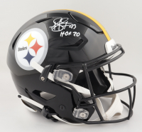 "Troy Polamalu Signed Steelers Full-Size Authentic On-Field SpeedFlex Helmet Inscribed ""HOF 20"" (JSA COA) at PristineAuction.com"