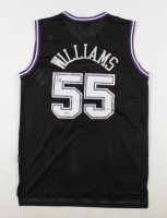 Jason Williams Signed Kings Jersey (Beckett COA) (See Description) at PristineAuction.com