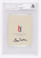 Byron Nelson Signed 2000 Byron Nelson Classic Tournament Score Card (BGS Encapsulated) at PristineAuction.com